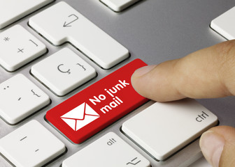 No junk mail. Keyboard