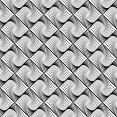 Design seamless wave diamond geometric pattern