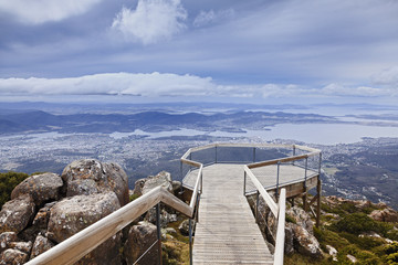 Hobart Mt Wellington Lookout