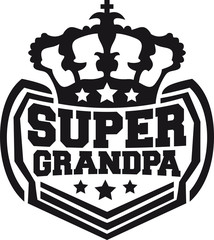 Super König King Krone Opa Logo