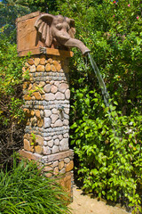 Tropical shower, Thailand