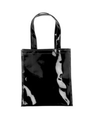 Black female bag isolated on white