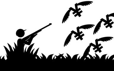Hunting yen