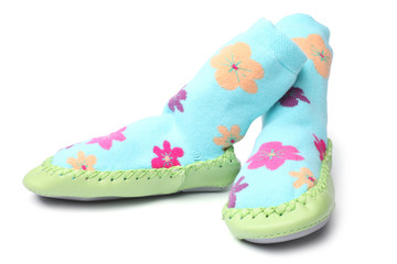 Pair of children's bootees