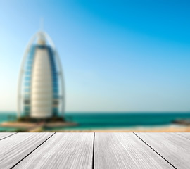 "Luxury hotel Burj Al Arab ""Tower of the Arabs"""