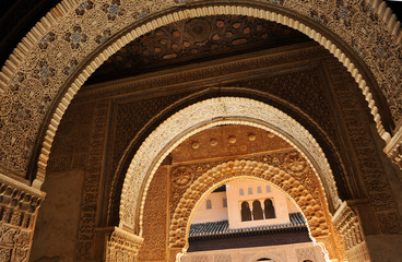 Alhambra palace, Granada, Andalusia, Spain