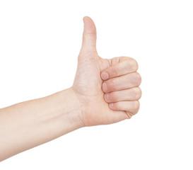 Thumbs up vote - Like