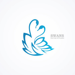 Sign swans