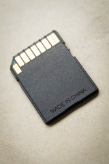 Memory card for digital camera