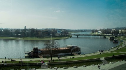 Krakow Wisla River