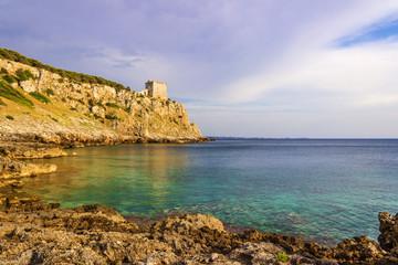 Costa salentina:  Portosevaggio (Lecce).-  ITALIA (Puglia) -