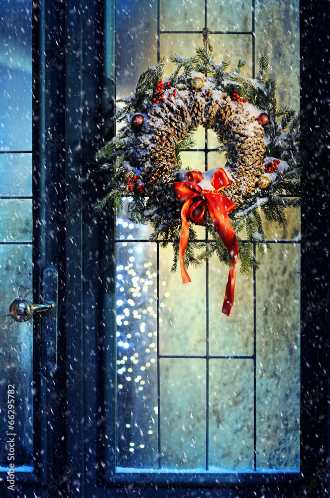 dom drzwi szkło - powiększenie