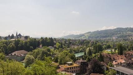 Bern, Altstadt, Matte, Aare, Aarebad, Sommer, Schweiz
