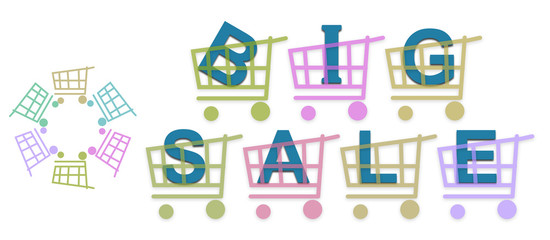 Big Sale Shopping Baskets