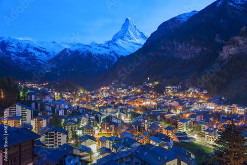 Aluminium Bergen Zermatt, Switzerland