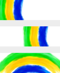 Brazil 2014 - Abstract Banners esay all editable or remove
