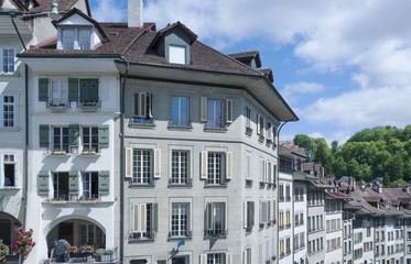 Residential buildings in Bern, Switzerland