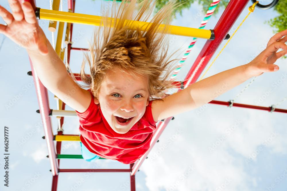 radość szczęśliwy dzieci - powiększenie