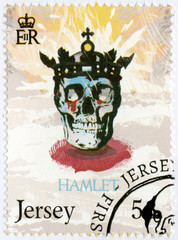 JERSEY - 2014: shows illustration from Hamlet