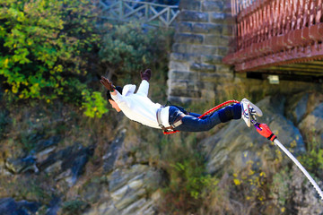 Bungy jump, New Zealand