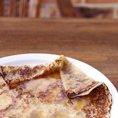 crêpe mit honig