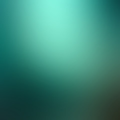 Smooth green abstract gradient background