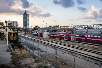 Trains in Haifa