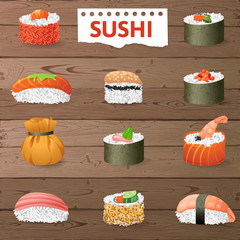 Great sushi set