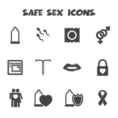 safe sex icons