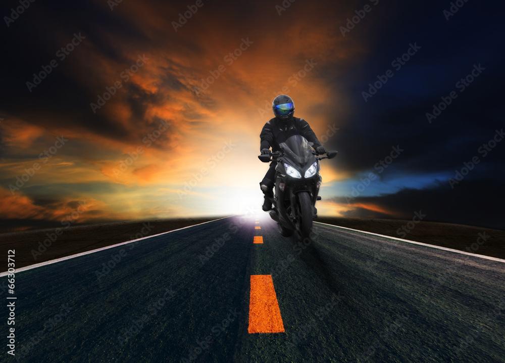 wypoczynek przejażdżka rowerzysta - powiększenie