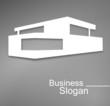 logo maison d'architecte design