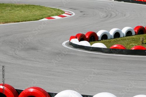 Leinwanddruck Bild Circuito velocidad