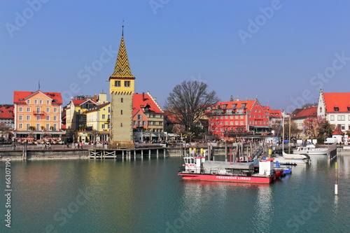 canvas print picture Lindau am Bodensee