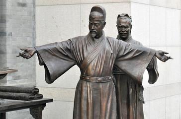 Old monument in Beijing
