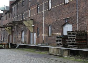 Altes Lagerhaus im Hamburger Hafen