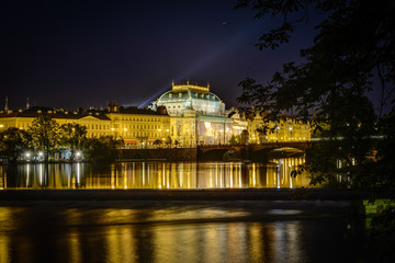 Prague National Theatre ,Czech Republic