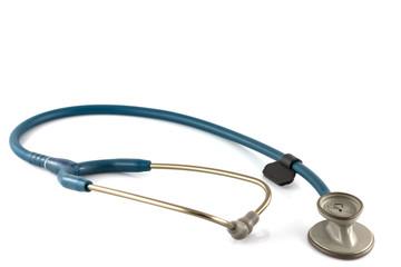 stethoscope isolated