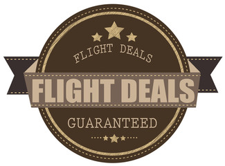 flight deals stamp