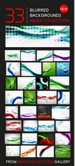 Huge mega collection of blurred backgrounds