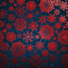 Christmas pattern snowflake background. EPS