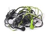 Twisted headphones
