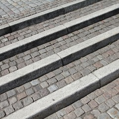 Granite stairs in Stockholm