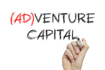 Hand writing adventure capital