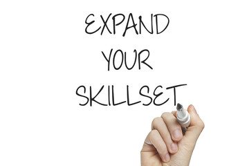 Hand writing expand your skillset