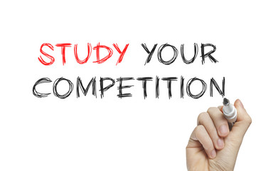 Hand writing study your competition