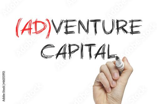 Hand writing adventure capital