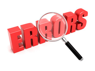 Search for errors
