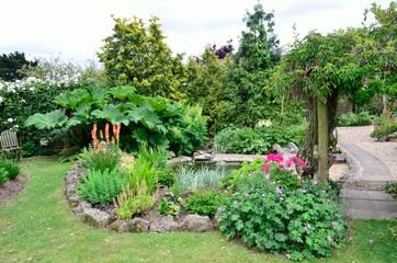 Large English garden