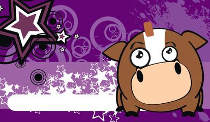 horse ball cartoon background