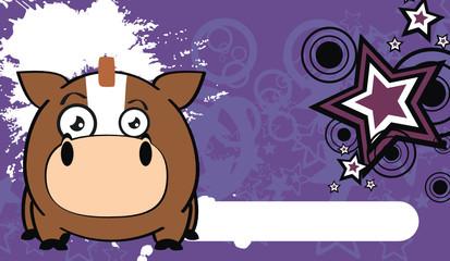 horse ball cartoon wallpaper